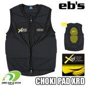 eb'sエビス【19/20・CHOKIPADXRD:BLACK】スキースノボスノーボード用プロテクタープロテクション