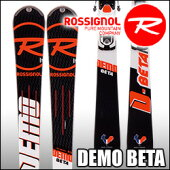 スキー板Rossignol(ロシニョール)【16/17・DEMOBETA(FLUIDX)+FCFB005SPX12FLUIDB80WhiteIcon】ビンディングとの2点セット!!