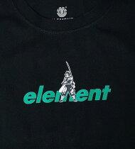 ELEMENT【BB026294:BLK】YOUTH(キッズサイズ130-160cm)半袖Tシャツエレメント【鬼滅の刃】KIMETSUTANJIROSSBTシャツ子供服ボーイジュニアユースバックプリントあり[メール便対応可]