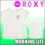 ROXY[ロキシー]【MORNINGLIFE】半袖スウェットトップス[130CM-150CM]