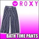 楽天ROXY[ロキシー] バギーパンツ【BATH TIME PANTS】UVカット機能を備えたワイドシルエット
