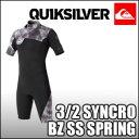 Quiksilver[クイックシルバー] ウェットスーツ【3/2 SYNCRO BZ SS SPRING】ショートタイプ