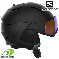 SALOMON[サロモン]スキーヘルメットDRIVERPHOTOBlk/Blue[41532500]L41532500ドライバーフォトバイザー付きヘルメット