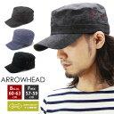 ARROWHEAD アローヘッド ワークキャップ ( メンズ 大きいサイズ キャップ 帽子 AHAI-0113 )