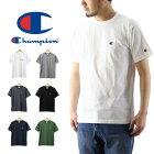 Championチャンピオンワンポイント刺繍Tシャツ(メンズ半袖Teeトップス無地ベーシックC3-H359)