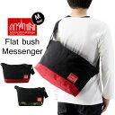 Manhattan Portage マンハッタンポーテージ Flat Bush Messenger Bag フラット ブッシュ メッセンジャー バッグ Mサイズ ( メッセンジャーバッグ ショルダー バッグ メンズ レディース MP1631 )