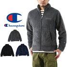 Championチャンピオンボアフリースジャケット(メンズ長袖羽織りブルゾンBASICベーシック無地C3-J609)