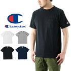 Championチャンピオン半袖ポケットTシャツ(メンズトップスポケT無地BASICベーシックC3-K340)