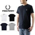 FREDPERRYフレッドペリーCREWNACKT-SHIRTクルーネックTシャツ(メンズ半袖トップスTee無地M6334)