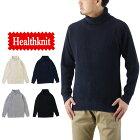 Healthknitヘルスニットスーパーヘビーワッフルタートルネック長袖Tシャツ/メンズ無地997