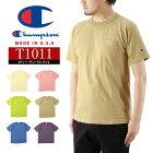 ChampionチャンピオンポケットTシャツ/T1011USTシャツ/メンズ半袖MADEINUSAアメリカ製無地ポケTeeトップスC5-P305