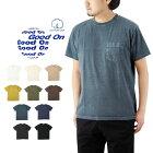 GoodOnグッドオンS/SPOCKETTEE/ショートスリーブポケットTシャツ/半袖無地ポケTGOST0903