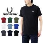 FREDPERRYフレッドペリーRINGERT‐SHIRTリンガーTシャツ/メンズ半袖Tee無地刺繍M3519