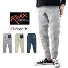 ROKXロックスTHEGOOSEPANTグースパンツ/メンズ裏起毛クライミングパンツニットライクRXMF191067