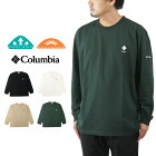 ColumbiaコロンビアTUTAKOKELAKELONGSLEEVETEEトゥタコークロングスリーブTシャツ/メンズ長袖TシャツPM0822