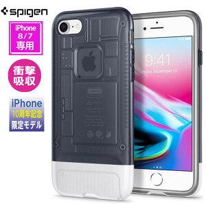 58f40725f2 アイフォン8 iphone8 iphone7 ケース spigen クラシックc1 グラファイト Classic C1 Graphite  054CS24404 /在庫あり