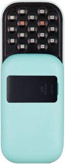UVマルチ除菌器essGeeポケットドクターブルー青EG18757/在庫あり/送料無料エスジーマスク除菌スマホ除菌ポータブル充電式スタンドblue
