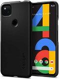 Google Pixel 4a ケース spigen ハードケース スリム マット仕上げ Thin Fit Black ACS01014 /在庫あり/ おしゃれ グーグル ピクセル4a 米軍MIL規格 耐衝撃