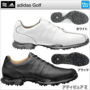 【本皮仕様の高級モデル】【送料無料】アディダス adidas メンズ ゴルフシューズ adiPURE アデ...