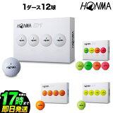 本間ゴルフ HONMA ホンマ BT1801 New-D1 ゴルフボール 1ダース(12球)