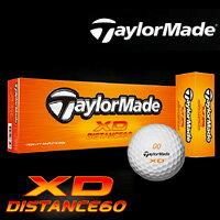 テーラーメイド Taylormadeテーラーメイド XD ディスタンス60 ゴルフボール 1ダース