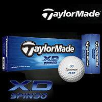 テーラーメイド Taylormadeテーラーメイド XD スピン50 ゴルフボール 1ダース