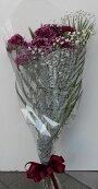 シックな色をしたカーネーションの花束10本送料無料ギフトです!!