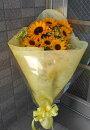 【送料無料】ひまわりの花束SH30