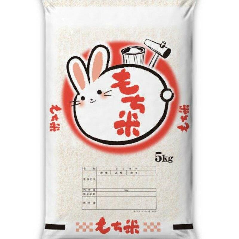 【ふるさと納税】【A-010】北海道産きたゆきもち米5kg