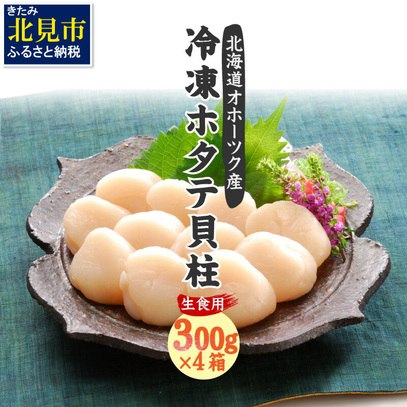 北海道オホーツク海産ホタテ貝柱1.2kg生食用