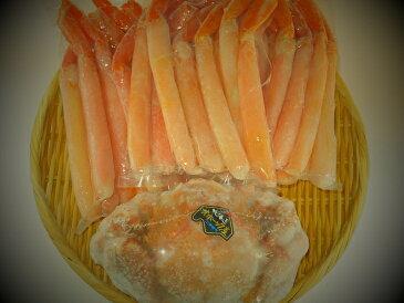 【ふるさと納税】北海道産 毛ガニ約500g・紅ずわいがにしゃぶしゃぶ750gセット