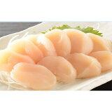 【ふるさと納税】宗谷産天然生食用ほたて貝柱1kg(特A無選別)【15011】