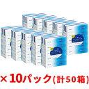 【ふるさと納税】エリエール+Water180組5箱×10パック 計50箱 【雑貨・日用品】
