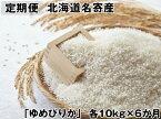 【定期便】北海道名寄産「ゆめぴりか」10kg×6か月定期便