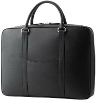 【ふるさと納税】[WD-01] SOMES WD-01ブリーフケース(ブラック) 革 革製品 革鞄 革バッグ 鞄 バッグ ビジネス