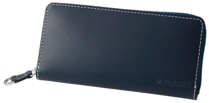 3f6b4906eeeb ふるさと納税 オンライン】[PA-11]SOMES PA-11 ラウンド財布(ネイビー ...