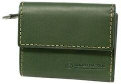 【ふるさと納税】[PA-17] SOMES PA-17 3つ折コンパクトウォレット(グリーン) 革 革製品 財布