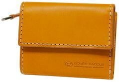 【ふるさと納税】[PA-17] SOMES PA-17 3つ折コンパクトウォレット(キャメル) 革 革製品 財布