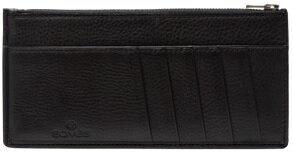 【ふるさと納税】[FE-16] SOMES FE-16 スリムウォレット(ブラック) 革 革製品 財布