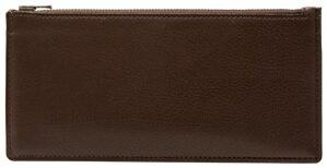 【ふるさと納税】[FE-16] SOMES FE-16 スリムウォレット(チョコブラウン) 革 革製品 財布