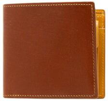 【ふるさと納税】[WF-03] SOMES WF-03 2つ折財布(ヘーゼル) 革 革製品 財布