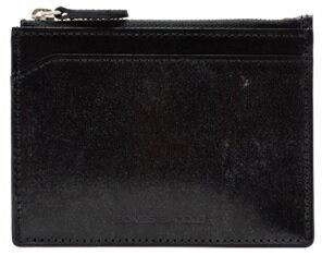 【ふるさと納税】[WF-04] SOMES WF-04 ミニウォレット(ブラック) 革 革製品 財布