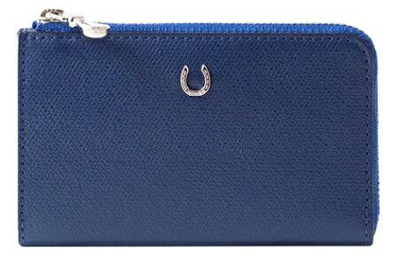 【ふるさと納税】[PT-28] SOMES PT-28 マルチケース(ブルー) 革 革製品 財布