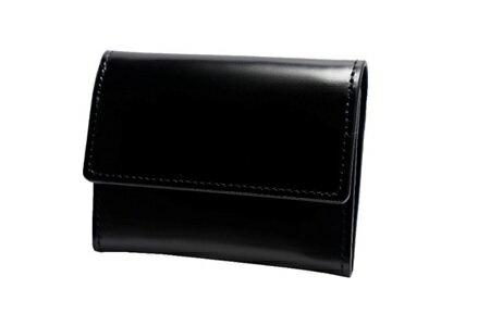 【ふるさと納税】[VD-04] SOMES VD-04 スリムウォレット(ブラック) 革、革製品、財布