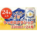 【ふるさと納税】サッポロクラシック350ml×24本×2箱【30232】