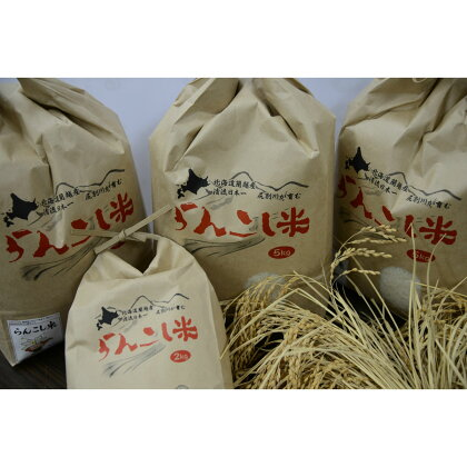 らんこし米(29年産 ななつぼし) 60Kg(5kgを毎月お届け)
