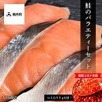 【新型コロナ支援】いくら50g付き!鮭のバラエティーセット<大川商店>北海道ふるさと納税積丹町ふるさと納税