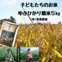 【ふるさと納税】菅原農産 ゆきひかり 精米5kg