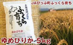 【ふるさと納税】JAぴっぷ町ゆめぴりか精米5kg