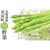 【ふるさと納税】グリーンアスパラ(L)2kg[秀品]【北海道美深町産】 【アスパラガス・野菜・グリーンアスパラ】 お届け:2021年5月中旬〜2021年6月下旬